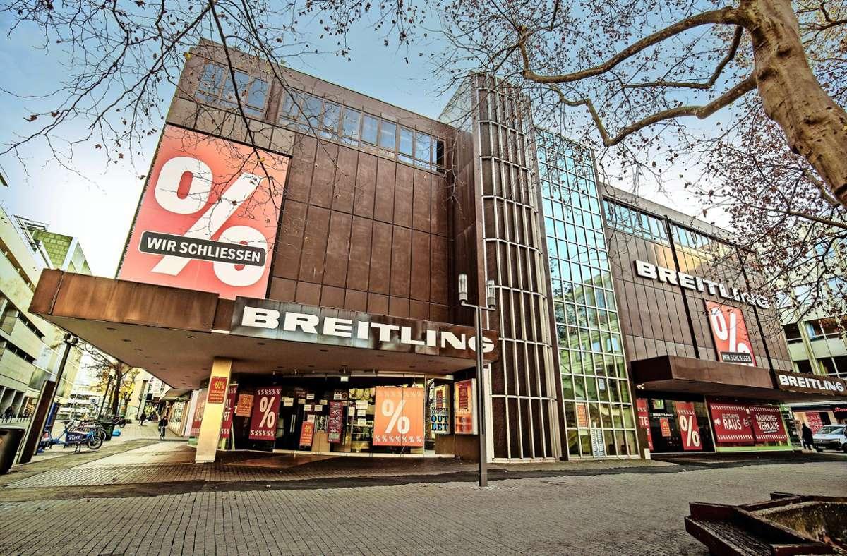 Zukunft des Breitling-Baus in Stuttgart - Nichts ist...