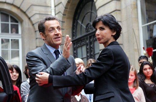 Rachida Dati war Sarkozys schillernste Ministerin. Foto: dapd