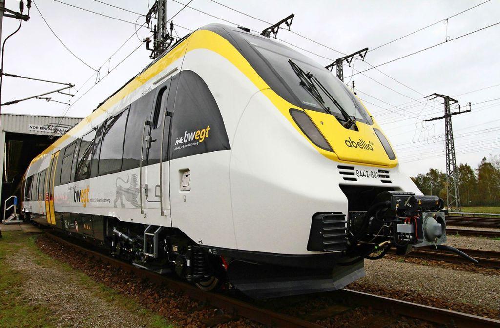 Bahnverkehr Abellio Muss Mit Alten Zügen An Den Start