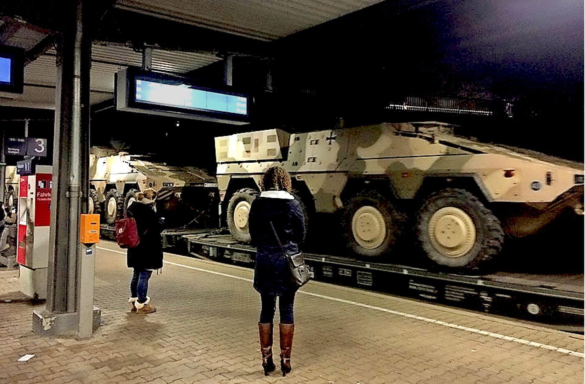Bundeswehr bahn