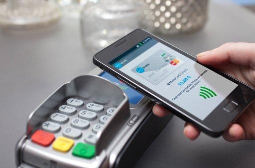 Das Smartphone ersetzt die Geldbörse