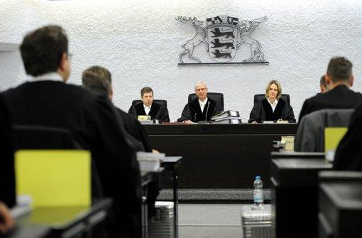 Seit Mitte November steht der Vater von Tim K., dem Amokläufer von Winnenden und Wendlingen, erneut vor dem Stuttgarter Landgericht. Er hatte das erste Urteil angefechtet. Foto: dpa