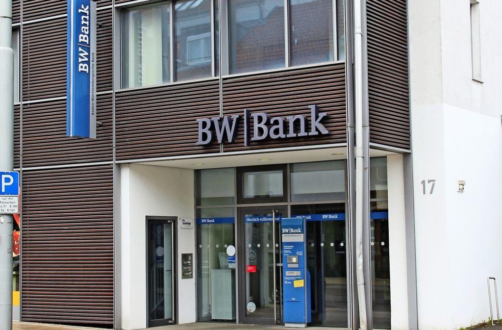 Stuttgart Stammheim Der Neue Weg Der Bw Bank Sorgt Für Unmut