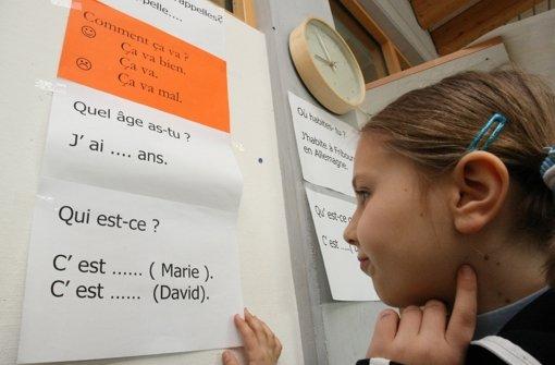 """Für den """"fröhlichen Gesprächstyp"""" biete sich   als zweite Fremdsprache Französisch an. Foto: dpa"""
