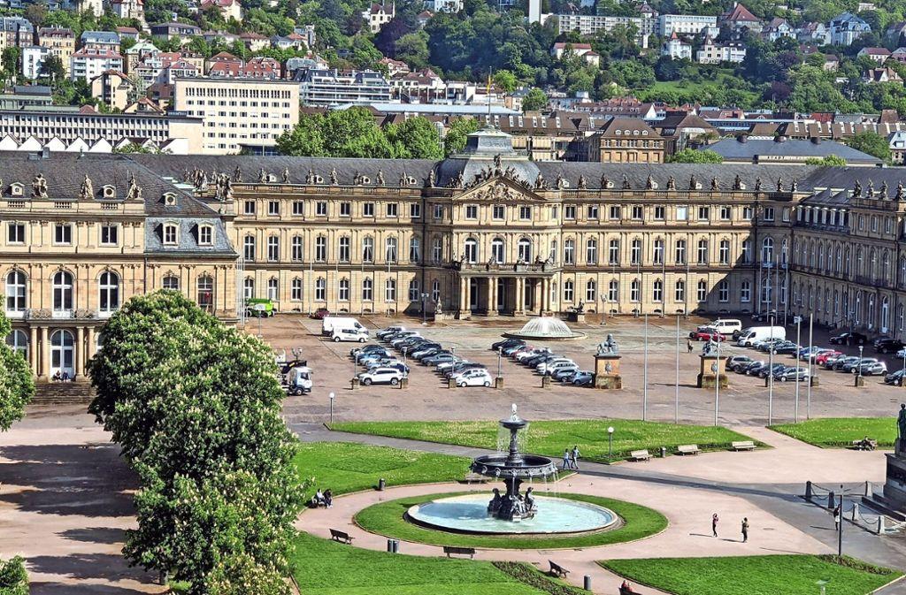 Parken Schlossplatz Stuttgart