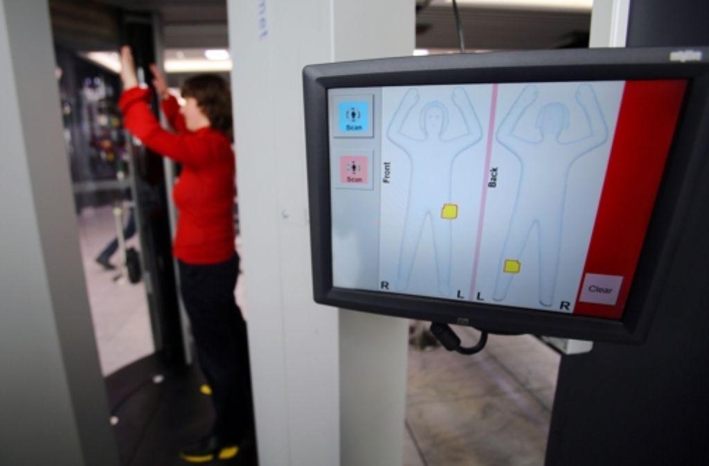 Flughafen Stuttgart Fünf Zusätzliche Körperscanner Im Einsatz