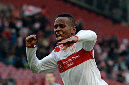 Ibrahima Traoré ist beim VfB obenauf. Foto: dpa