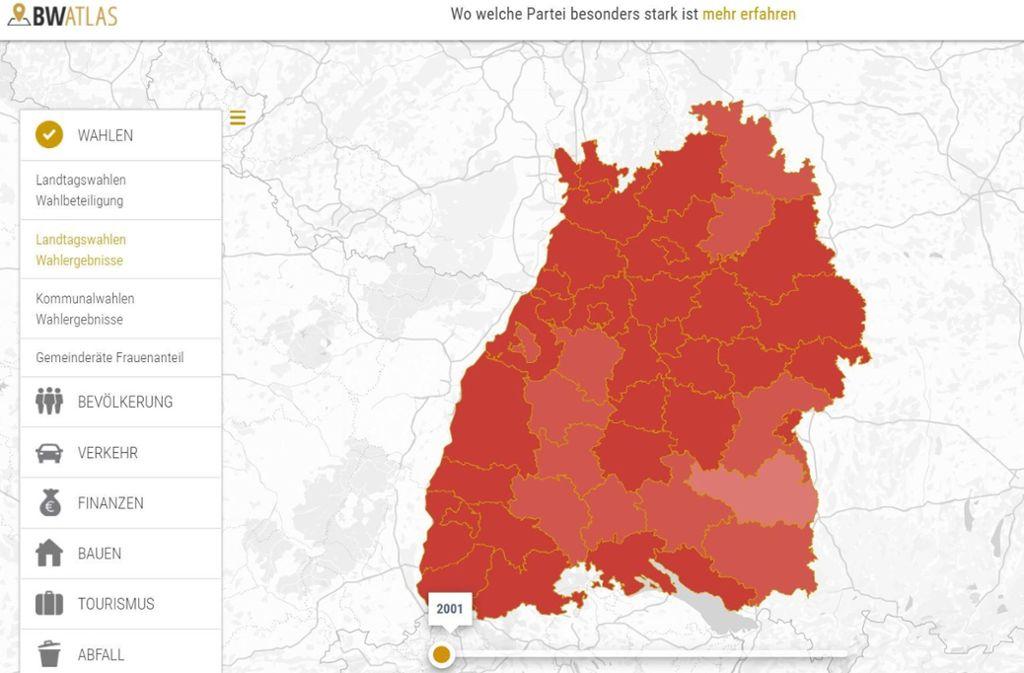 Bw Atlas So Haben Sie Baden Wurttemberg Noch Nie Gesehen Baden Wurttemberg Stuttgarter Zeitung