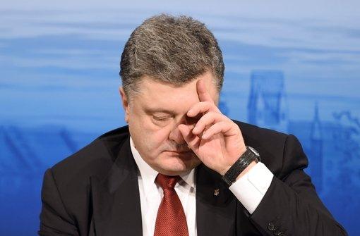 Poroschenko warnt vor neuen Kämpfen