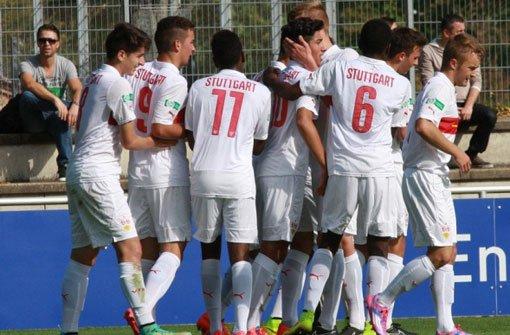 Klasse Leistung der VfB-U17-Junioren