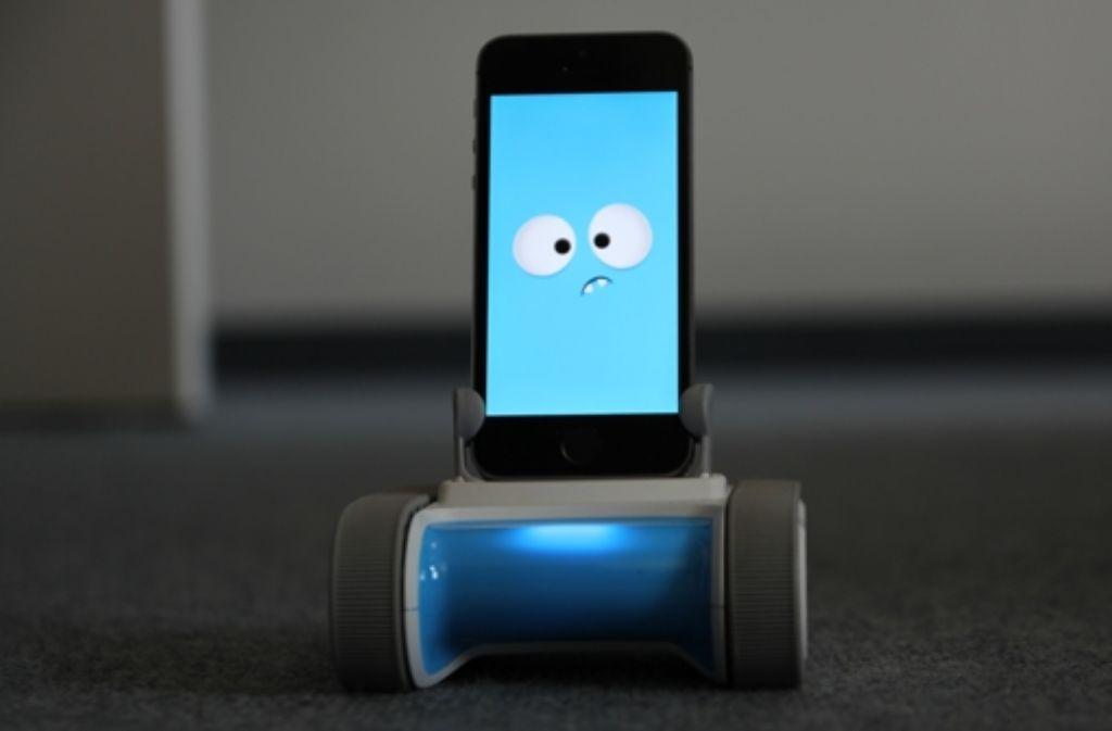 Der smartphone roboter romo ist ein teures spielzeug das
