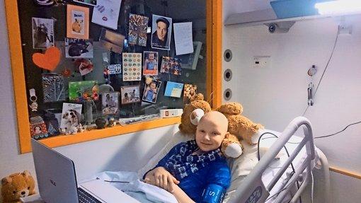 Marleen feiert Weihnachten im Krankenhaus