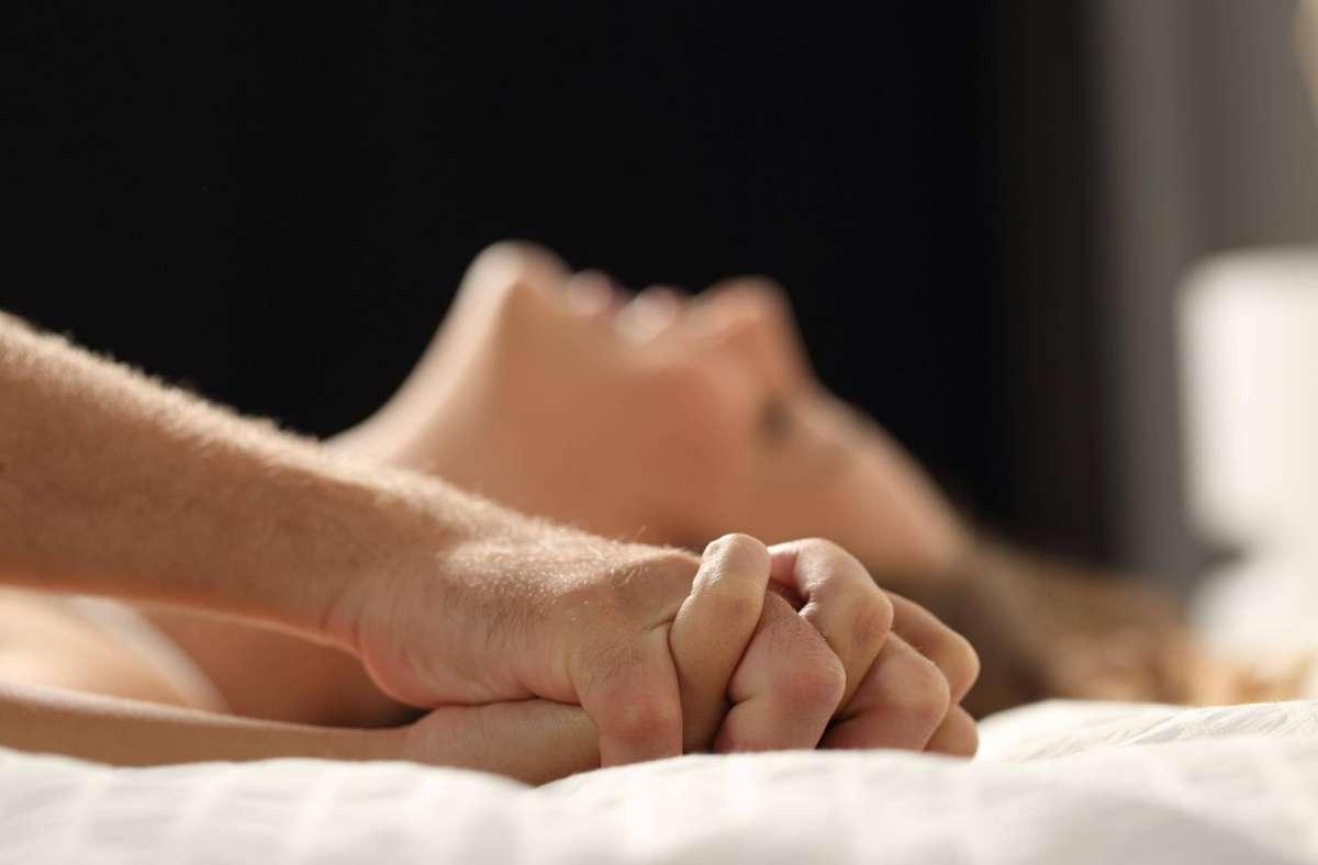 die samen während des orgasmus