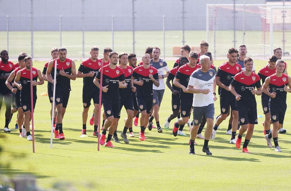 Saisonvorbereitung des VfB Stuttgart: Training in Stuttgart statt Testspiel am Mittelmeer