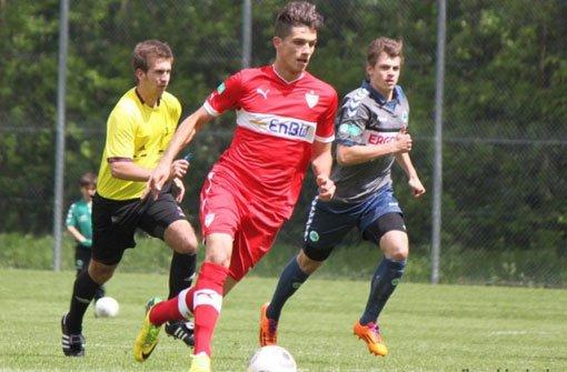 VfB II testet Junior Adrian Grbic