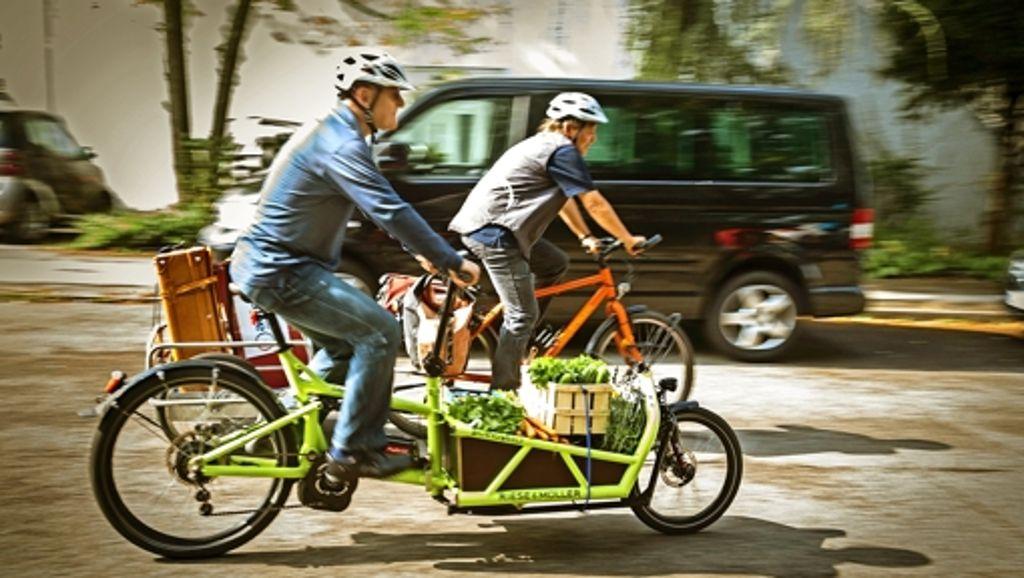 Umweltfreundliche Transportmittel: Umzug und Einkauf mit dem