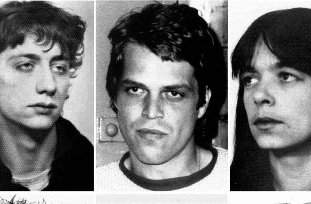Die Dritte Generation Der Raf übrig Bleibt Ein Triokrimineller