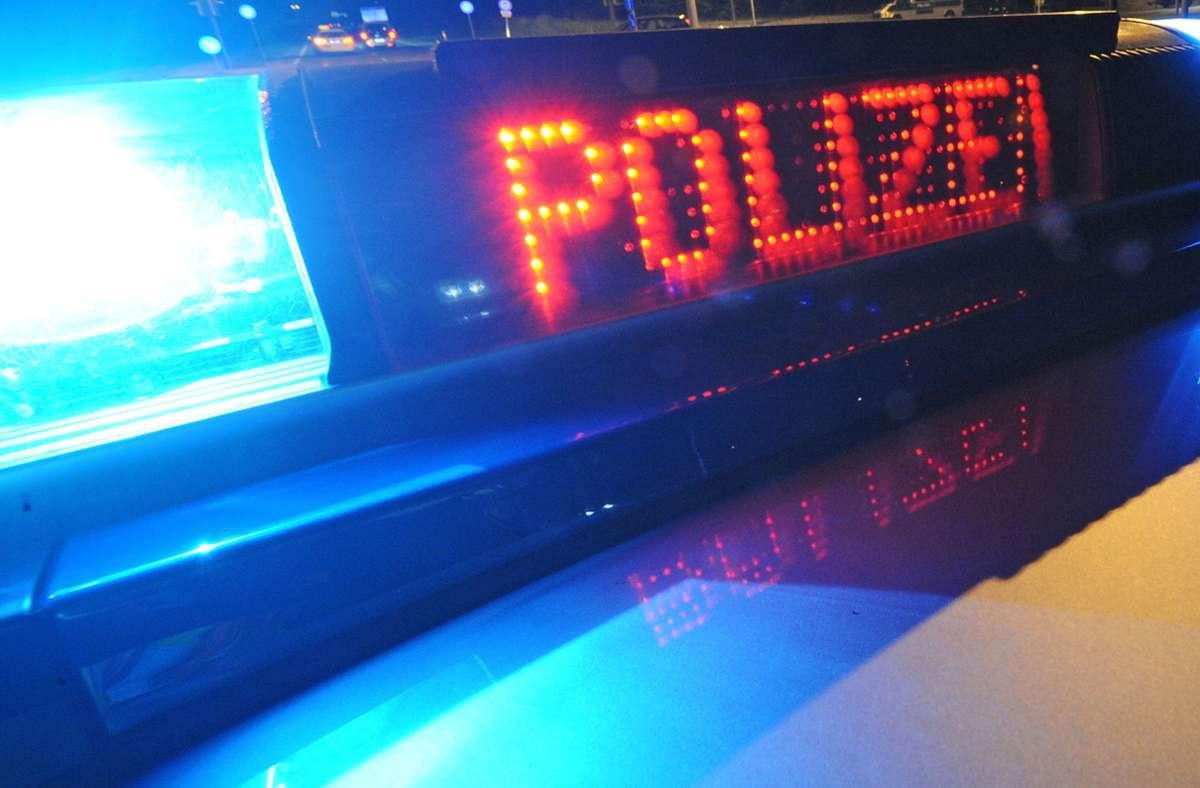 Polizei stoppt Autofahrer auf B 27: Mit mehr als zwei Promille unterwegs