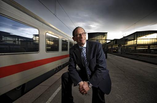 Der in Kairo geborene Hany Azer hat für die Bahn am Potsdamer Platz gebaut und am Lehrter Bahnhof. Jetzt soll es der 60-jährige Bauingenieur auch bei Stuttgart 21 richten. Foto: Stoppel