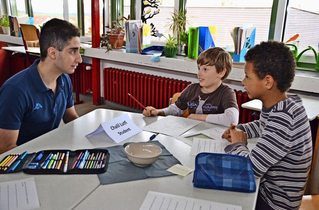 Jahnschule in Filderstadt Harthausen: Werkrealschule als