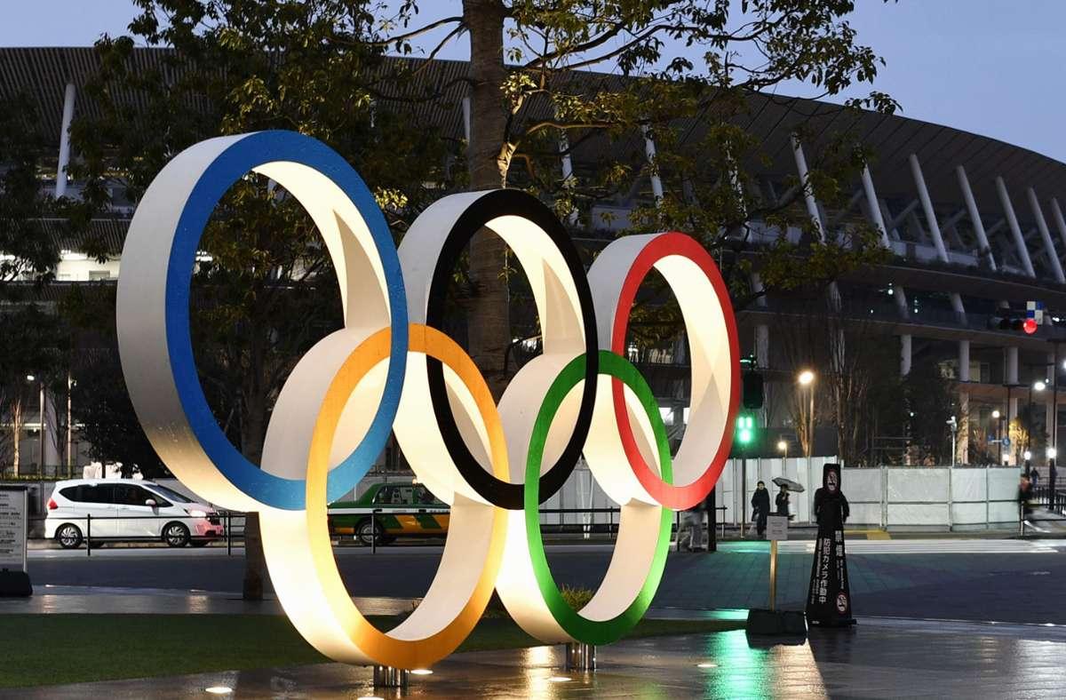 Tokio Olympische Spiele 2021 Werden Ausgetragen Sportmeldungen Stuttgarter Zeitung
