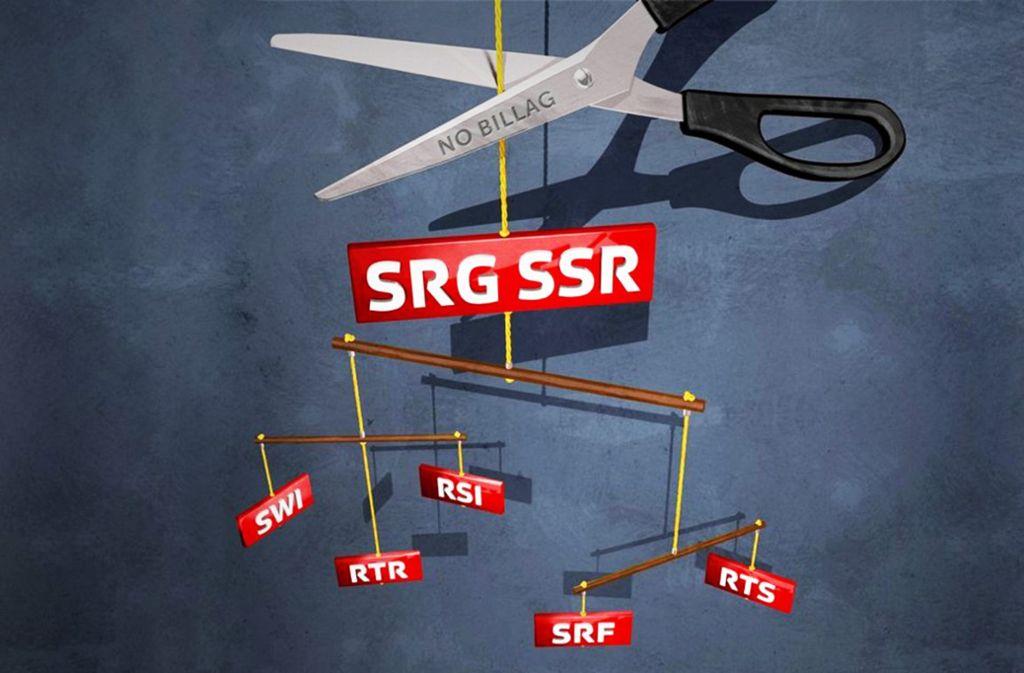 Schweizer Volksabstimmung Ber Rundfunkgeb Hren Kampf Um