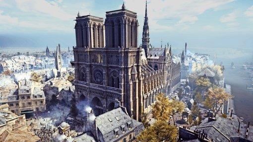 Notre-Dame als virtuelles Meisterwerk