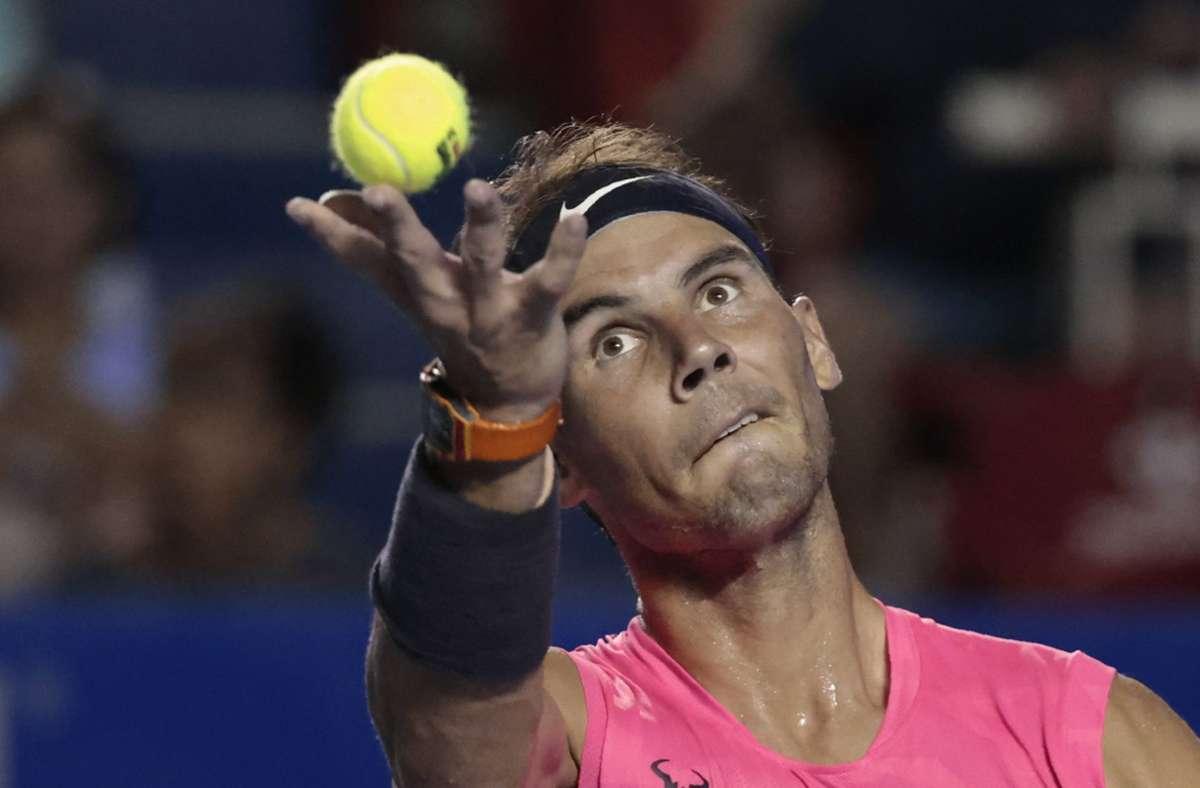 Rafael Nadal  der Sandplatzkönig fürchtet um...