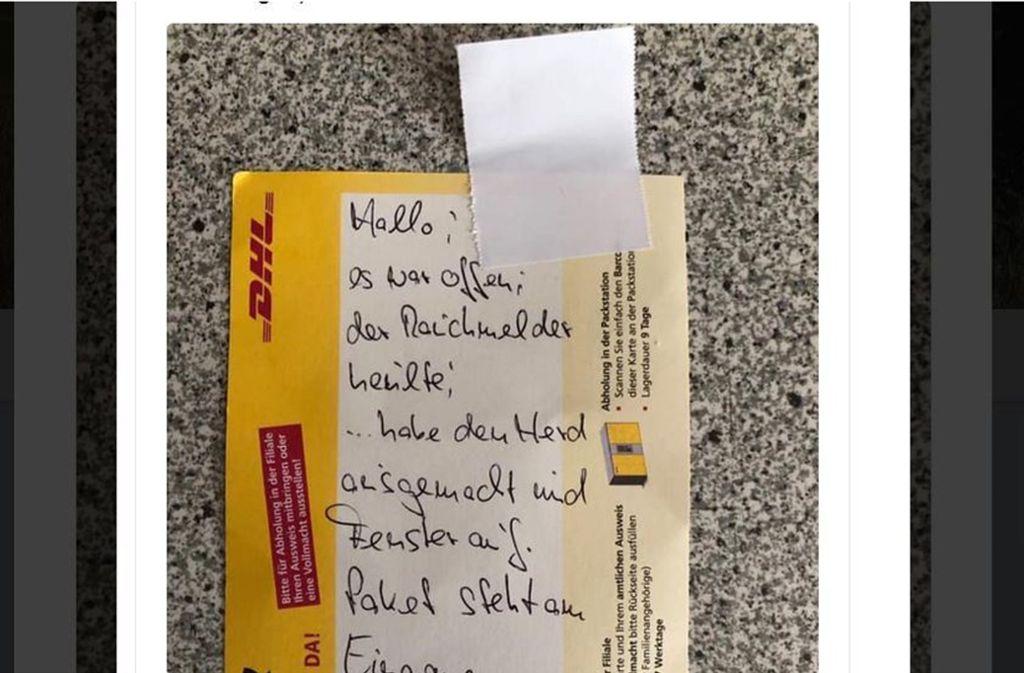 Packstation Karte Gesperrt.Rauchalarm In Kita Beherzter Paketbote Verhindert Schlimmeres