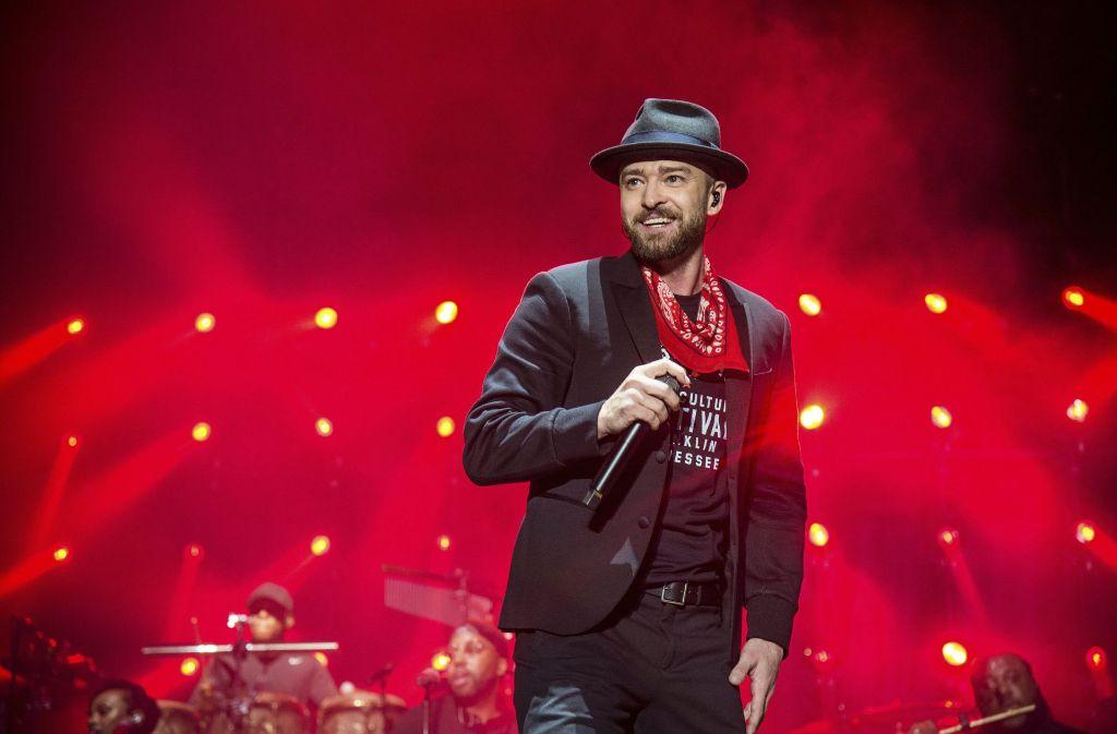 Super Bowl Halbzeitshow 2018: Justin Timberlake feiert