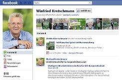 ... der Grünen-Spitzenkandidat Winfried Kretschmann ...p Screenshot: SIR