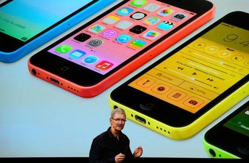 iphone apple bringt farbe und geschwindigkeit ins spiel wissen computer stuttgarter zeitung. Black Bedroom Furniture Sets. Home Design Ideas