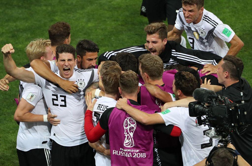Rote Karte Wm 2018.Wm 2018 Deutsche Pressestimmen Alles Schaut Auf Kroos Fußball