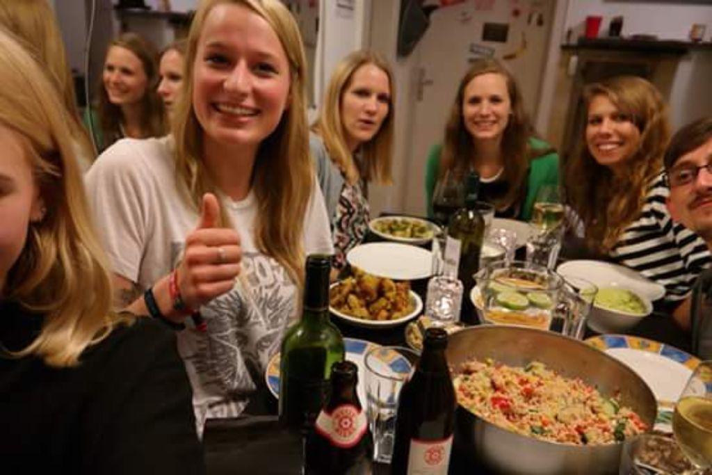 Running Dinner in Stuttgart: Kochen, tanzen und Gutes tun