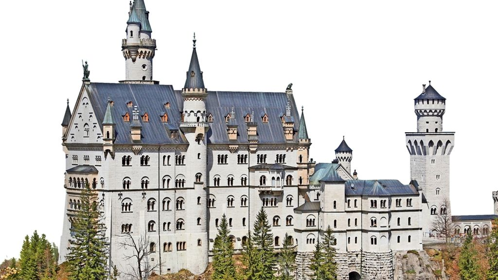 Zehn Fakten Zu Schloss Neuschwanstein Mythos Neu Wahnstein Panorama Stuttgarter Zeitung