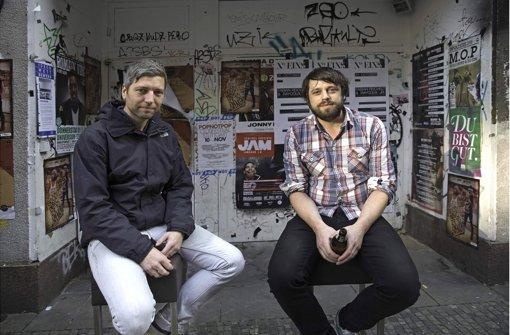 Sorgen für frischen Pop: Andreas Puscher (li.) und Hannes Steim. Foto: Achim Zweygarth