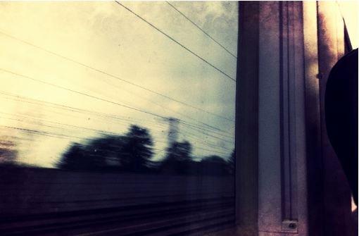 Eine Zugfahrt, die ist lustig