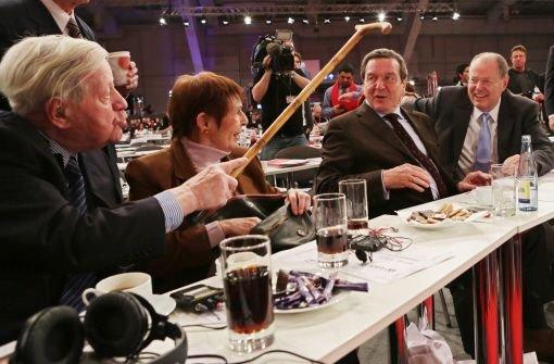 93 Prozent schenken Steinbrück ihr Vertrauen