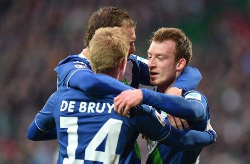Wolfsburg siegt 5:3 in Bremen