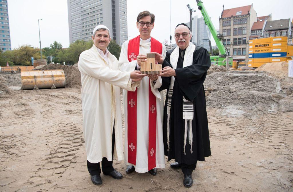 House of One in Berlin: Drei Religionen unter einem Dach vereint - Panorama  - Stuttgarter Zeitung