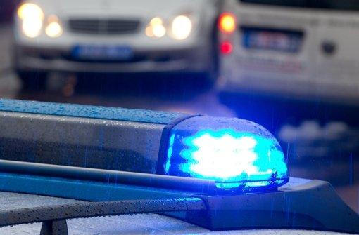 """""""Erhebliche personelle Ressourcen"""" hat die Polizei nach eigenen Angaben eingesetzt, um den Räuber zu fassen. Foto: dpa"""