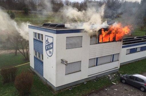 Mutmaßlicher Brandstifter in Haft