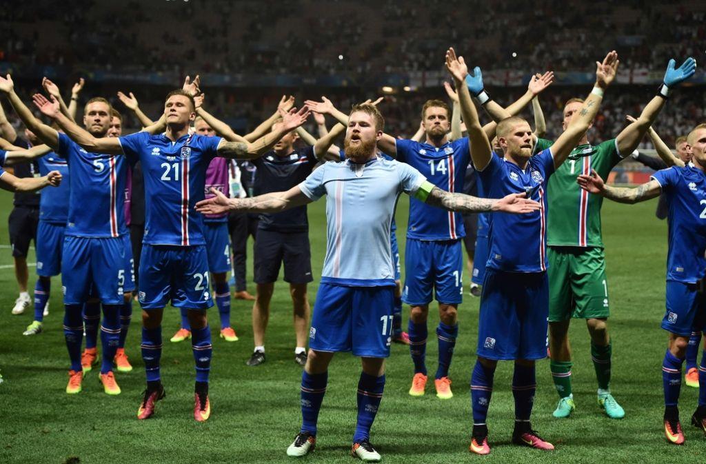 Isländische Nationalmannschaft Fußball