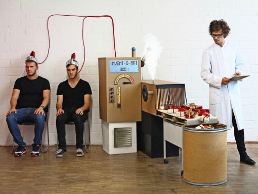Kunstakademie-Studenten: Weihnachten mit Sektrakete und Indoor ...