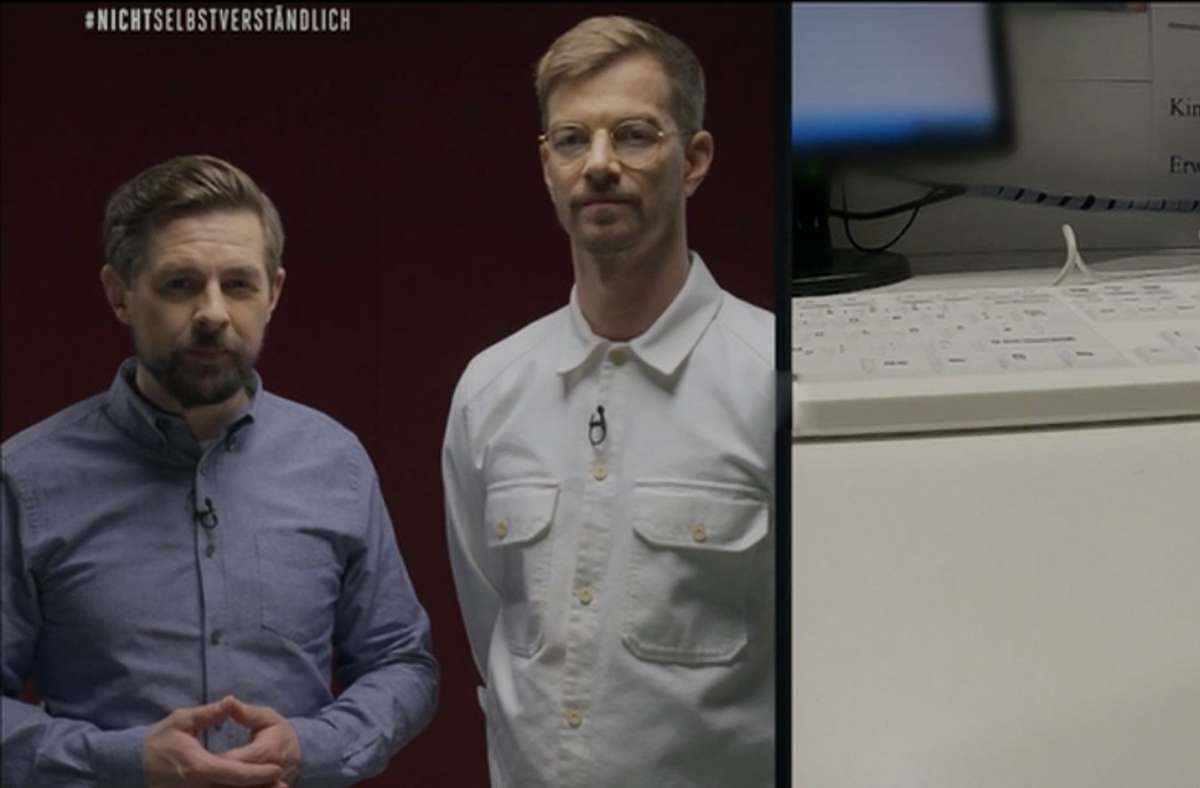 Joko Und Klaas Zum Pflegenotstand Was Da Gerade Passiert Durfte Ein Stuck Deutsche Tv Geschichte Sein Kultur Stuttgarter Zeitung
