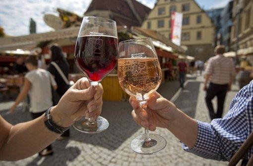 Stuttgart feiert auf der Sonnenseite