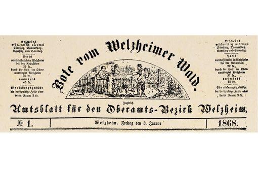 150 Jahre Welzheimer Zeitung im Museum Welzheim