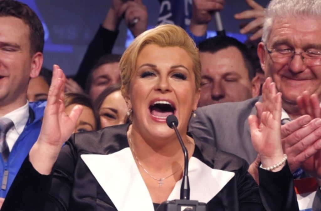 Frau kroatische Jugoslawische Frauen