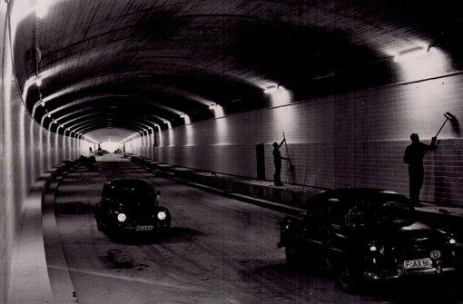 Überlebt im Wagenburg-Tunnel