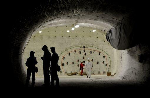 Das Erkundungsbergwerk Gorleben Foto: dapd